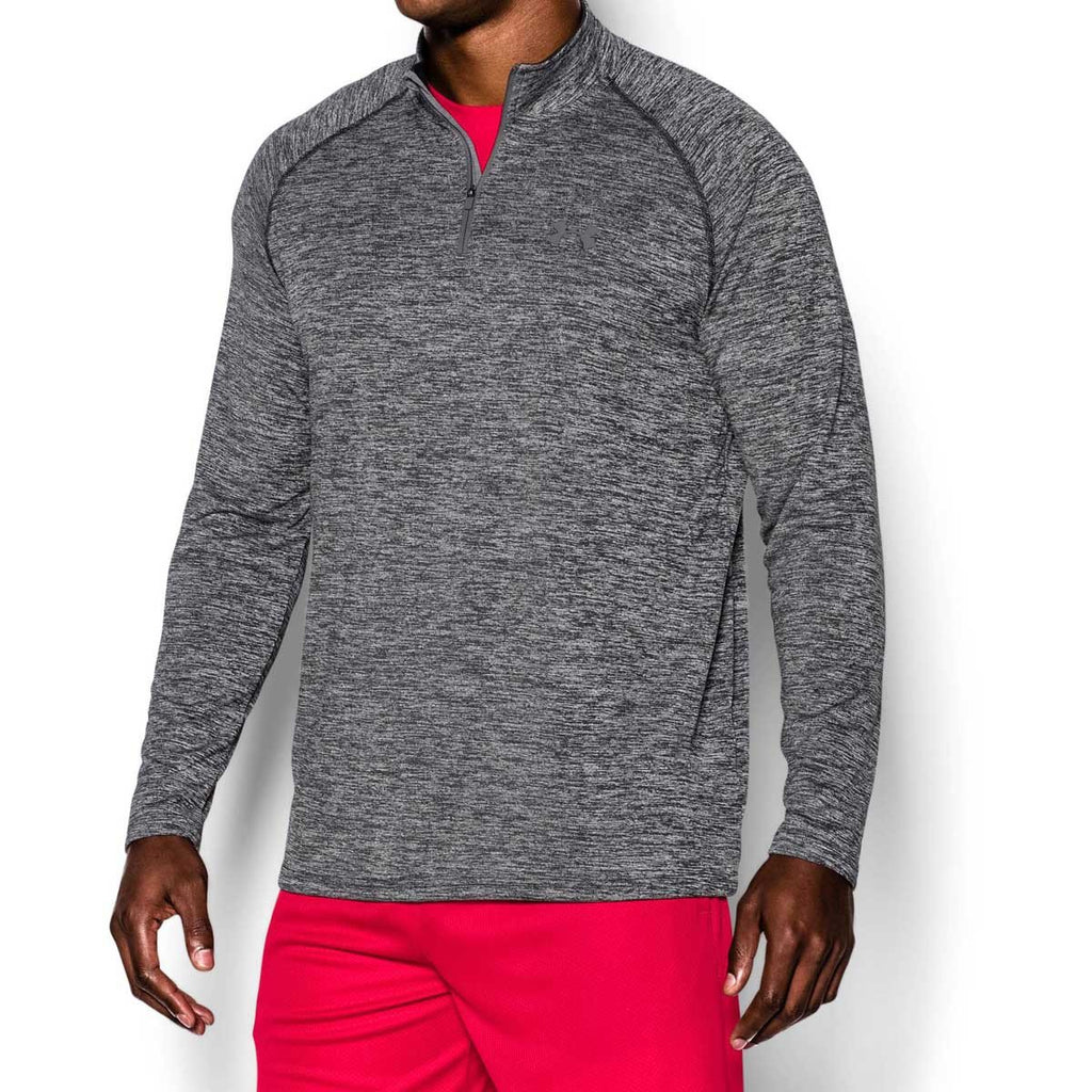 Under Armour Men's Black/Graphite Tech Quarter Zip
