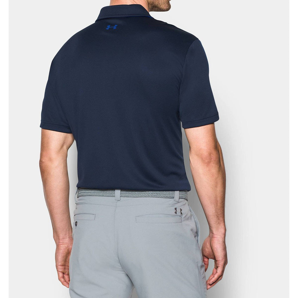 Under Armour Men's Midnight Navy UA Leaderboard Polo