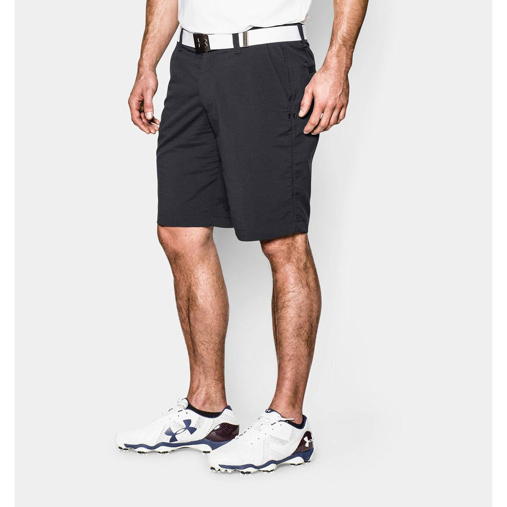 Under Armour Men's Black UA Match Play Shorts