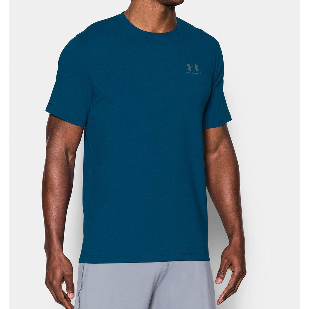 Under Armour Men's Teal UA Charged Cotton Sportstyle T-Shirt