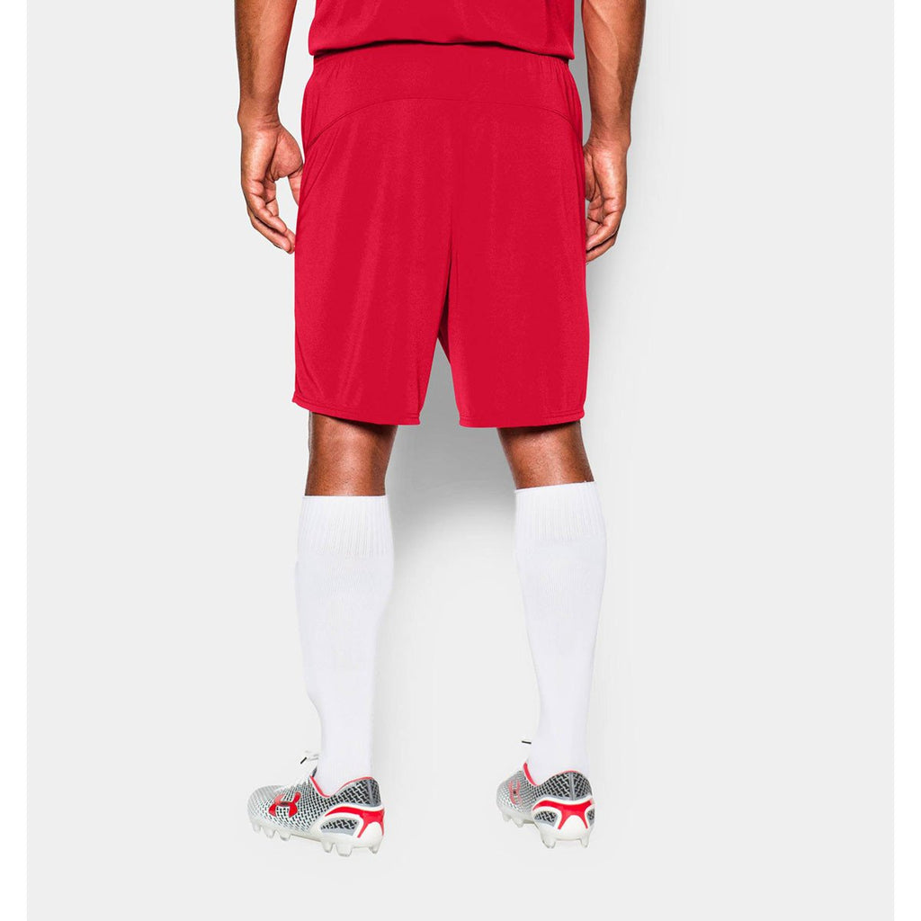 Under Armour Men's Red UA Golazo Soccer Shorts