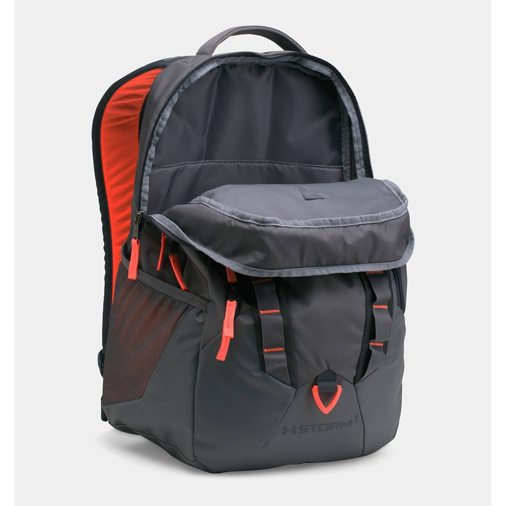 Under Armour Orange Storm Recruit Backpack