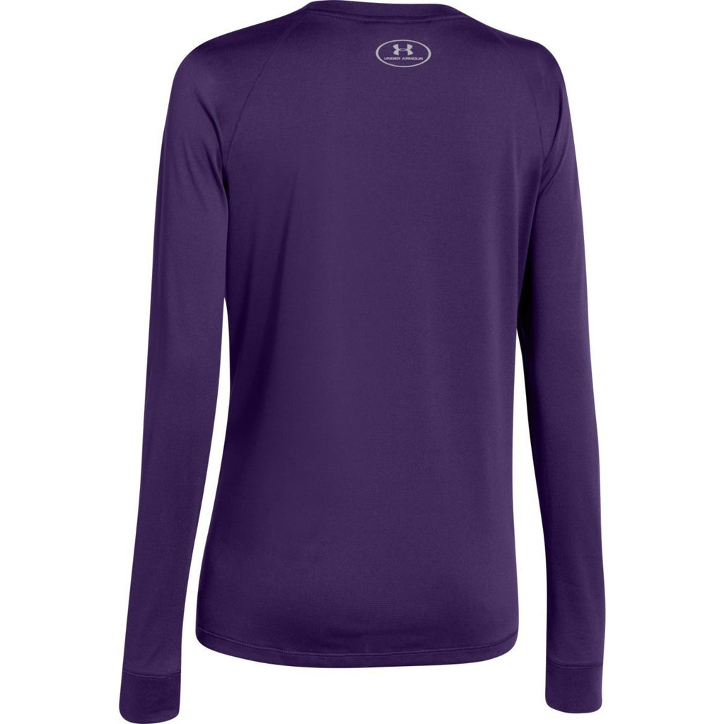 Under Armour Women's Tropic Purple L/S Locker Tee