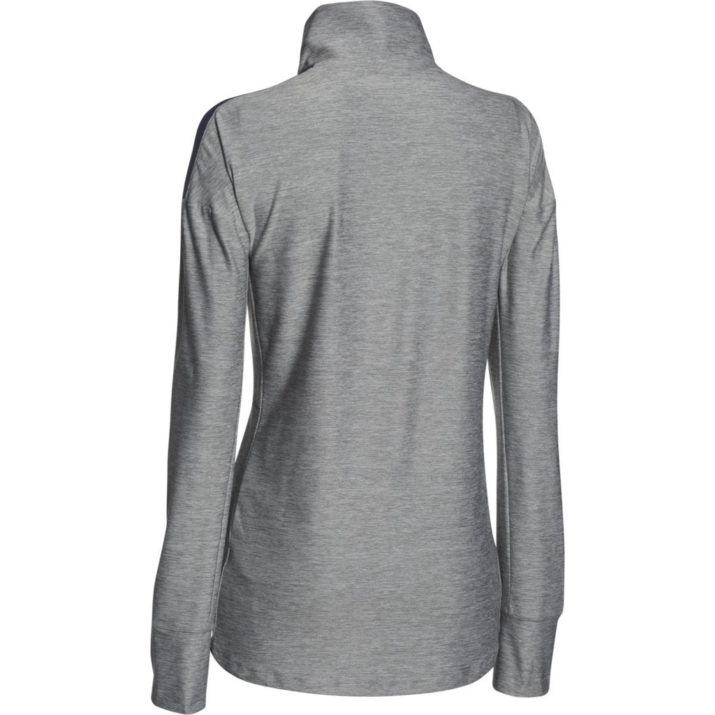 Under Armour Women's Midnight Navy Hotshot 1/2 Zip