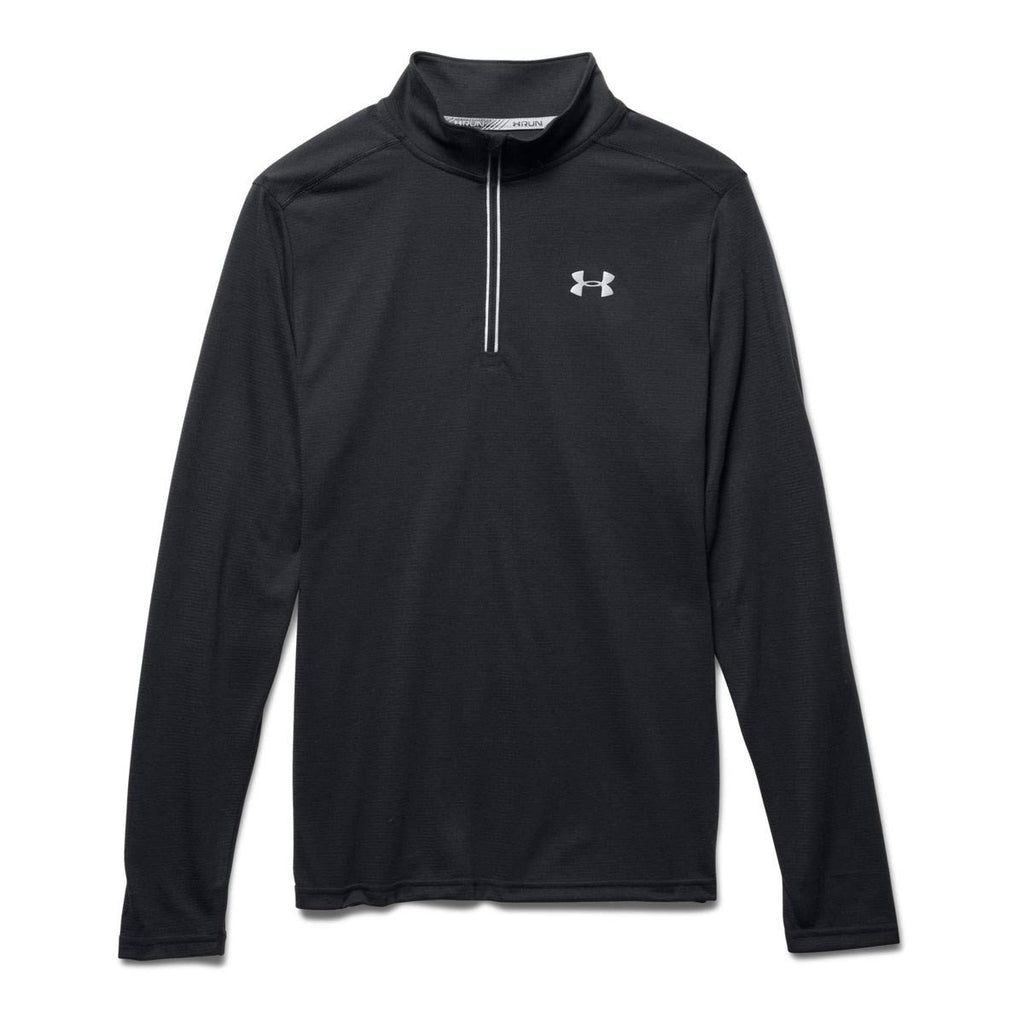 Under Armour Men's Black/Black/Reflective UA Streaker Run Quarter Zip