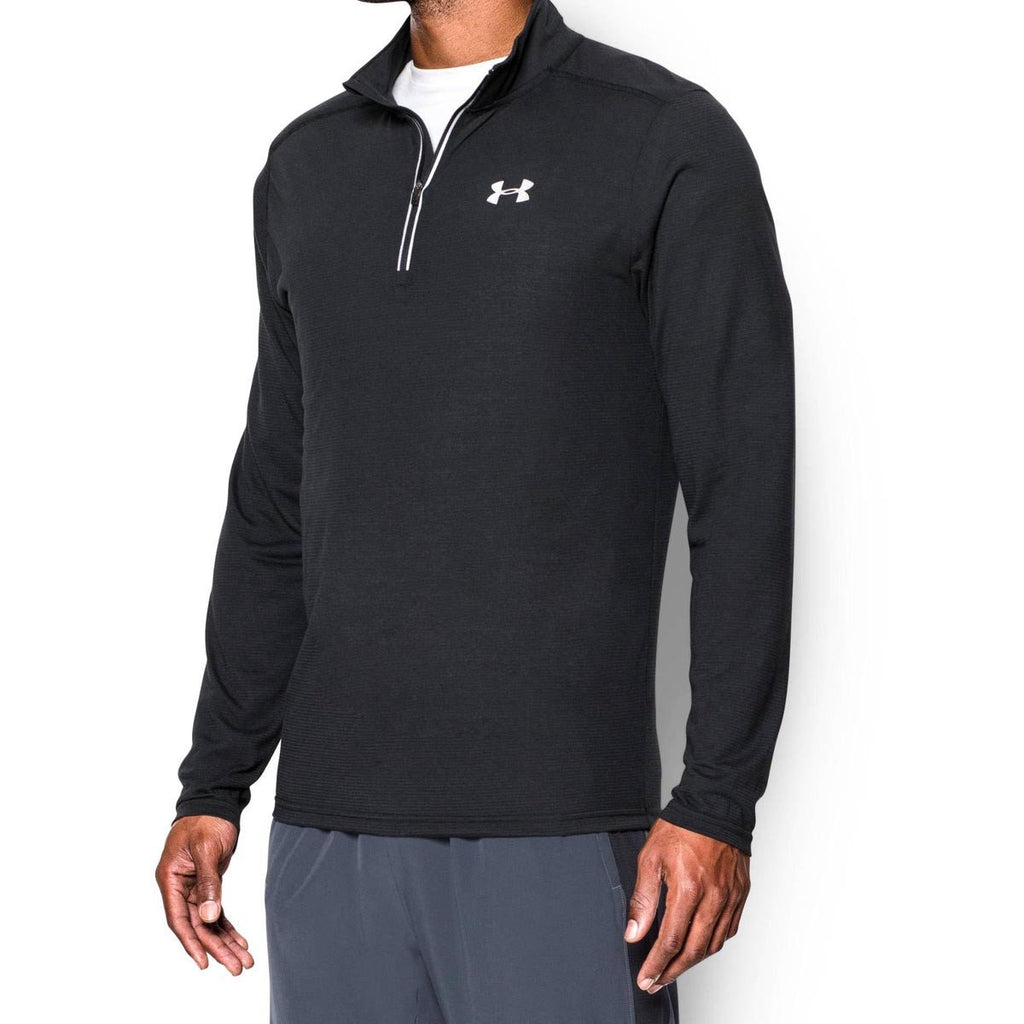 Under Armour Men's Black UA Streaker Run Quarter Zip