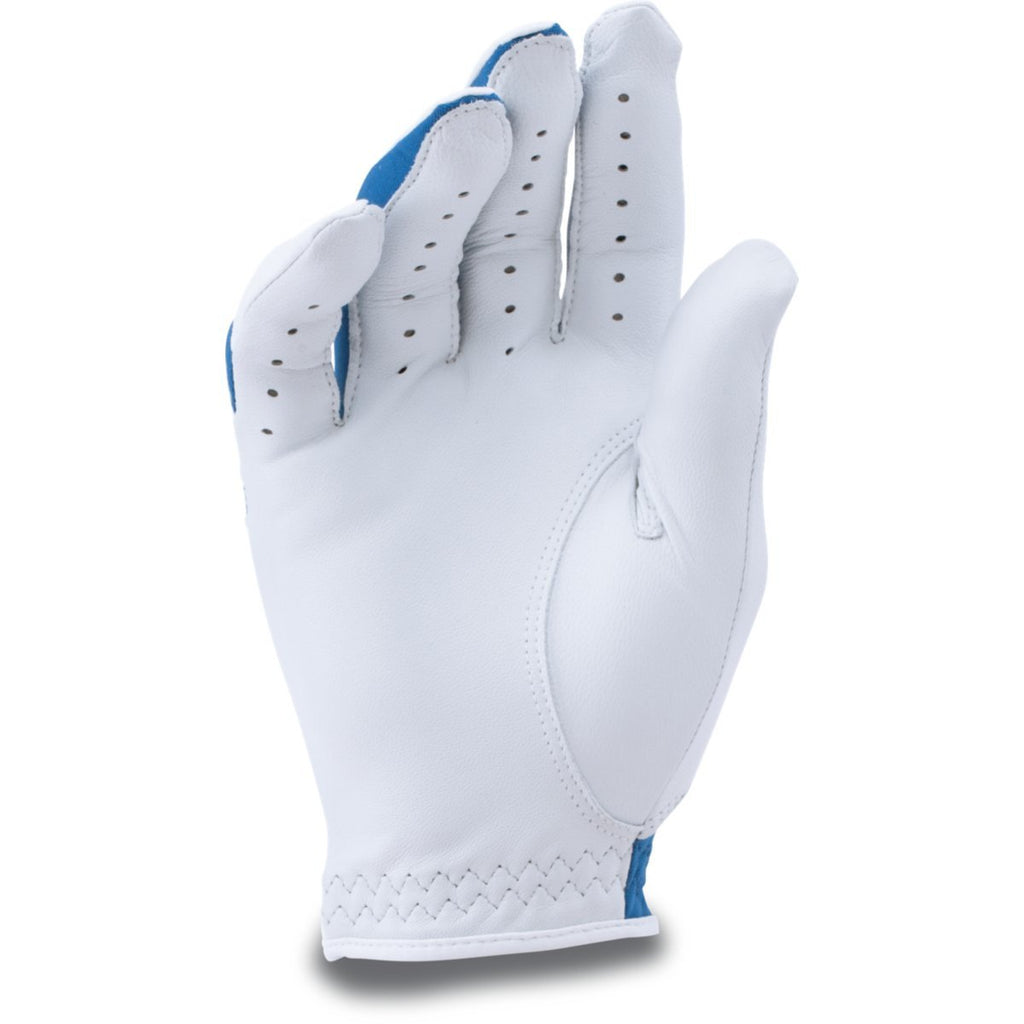 Under Armour White/Royal CoolSwitch Golf Glove