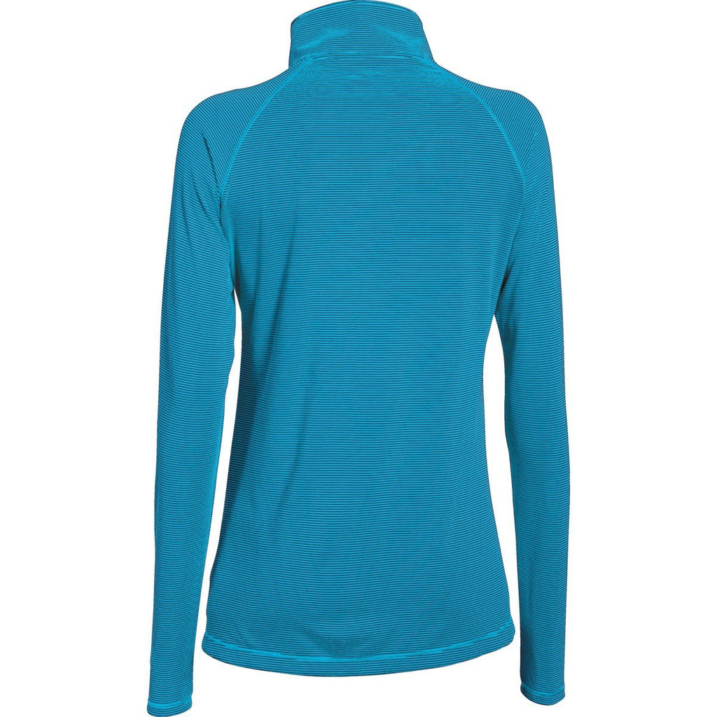 Under Armour Women's Island Blues Stripe Tech 1/4 Zip