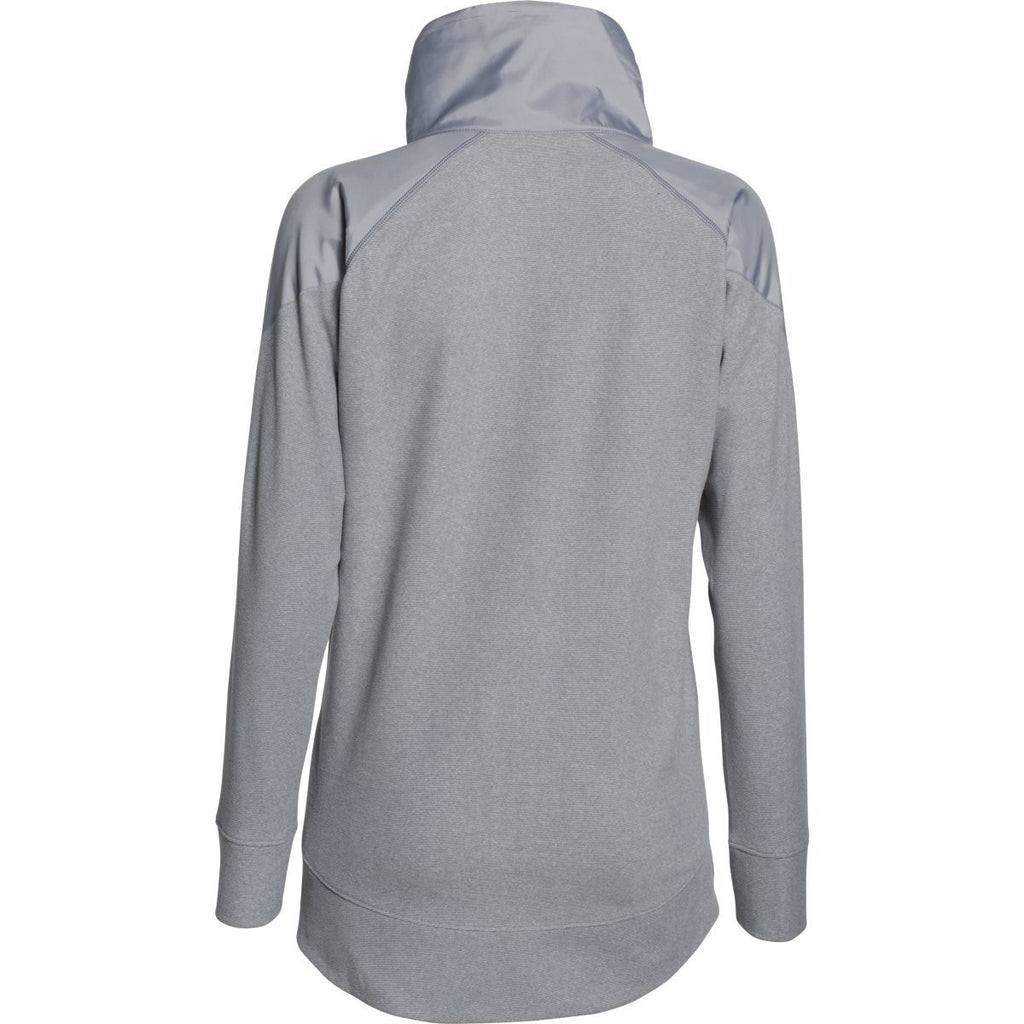 Under Armour Women's Steel UA Performance Fleece Full Zip Jacket