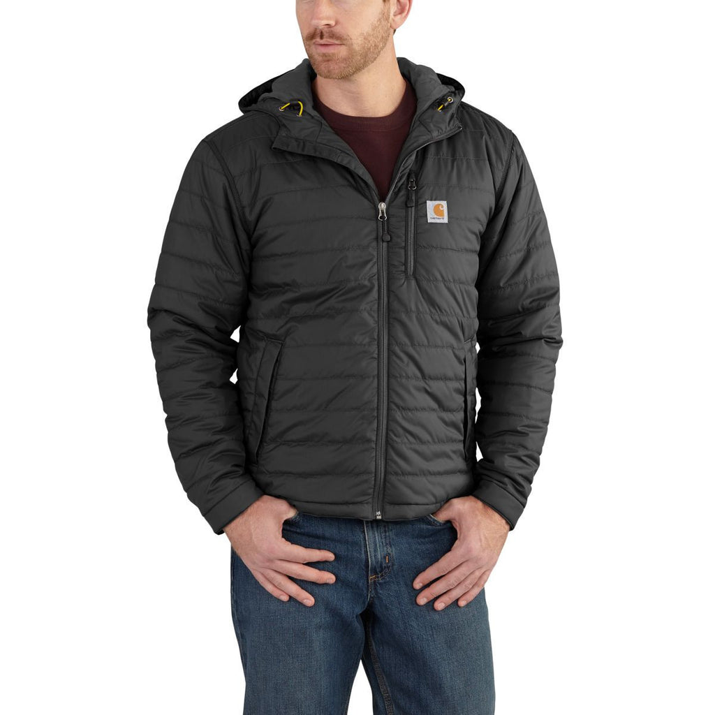 Carhartt Men's Black Gilliam Hooded Jacket