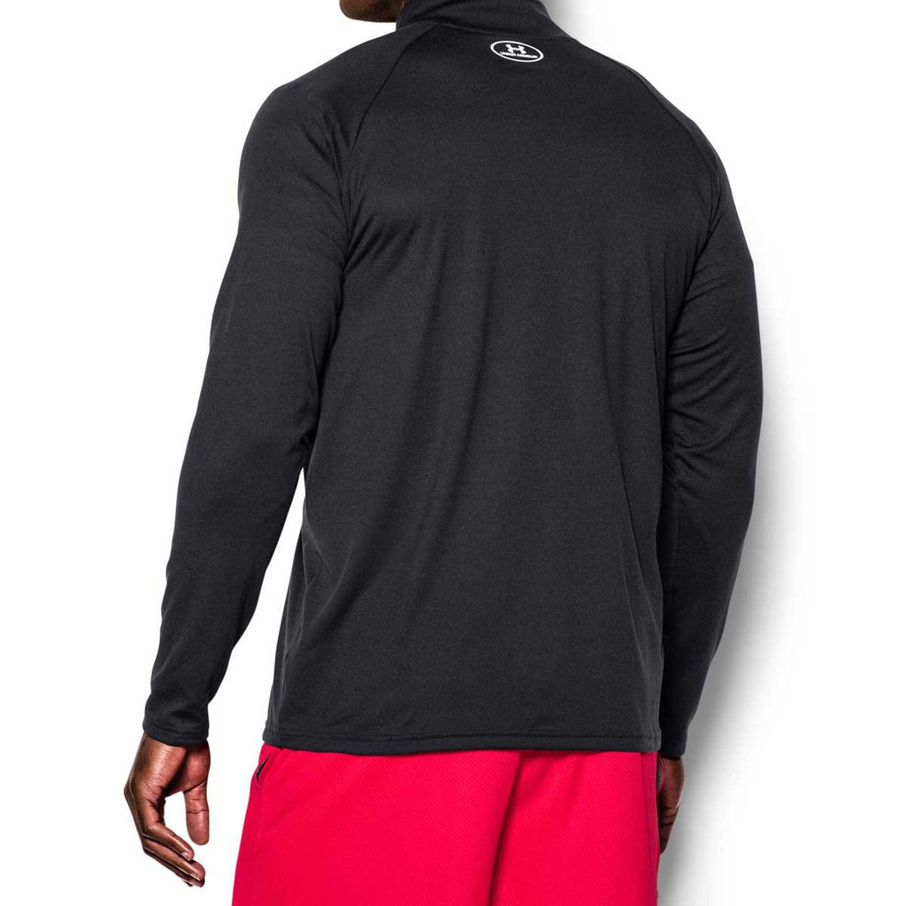 Under Armour Men's Black/White Tech Quarter Zip