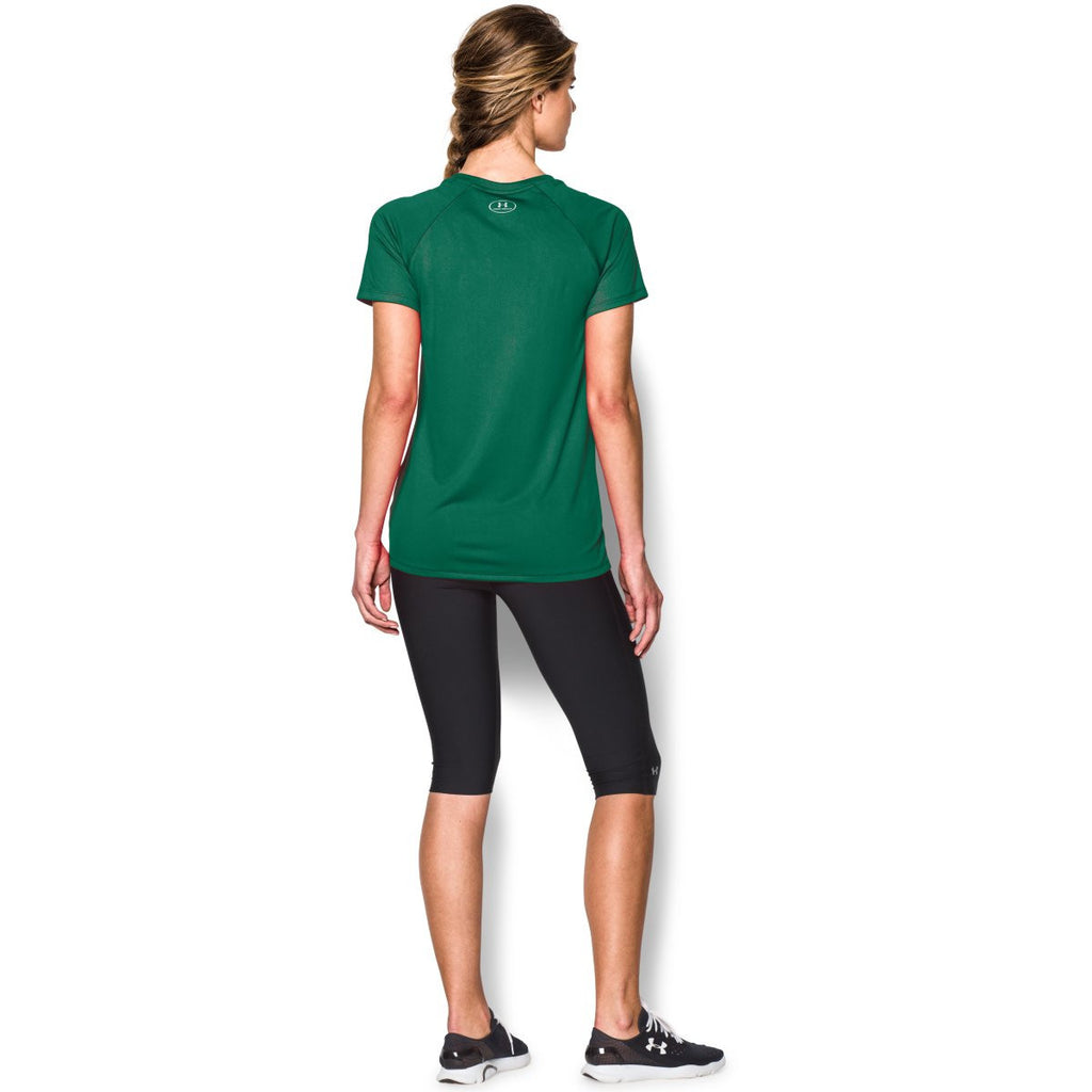 Under Armour Women's Team Kelly Green S/S Locker Tee