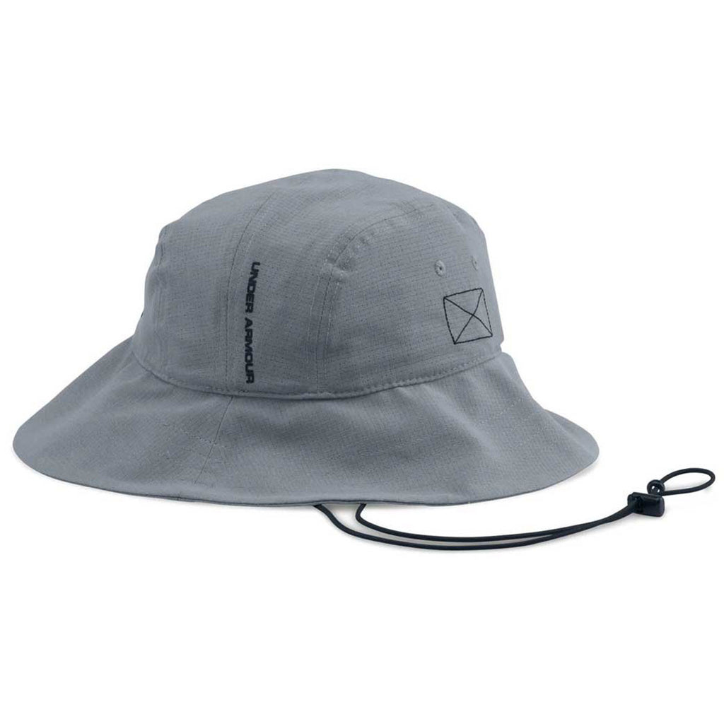 9a3f37258cf ... good under armour mens steel armourvent bucket hat 34e77 96aac
