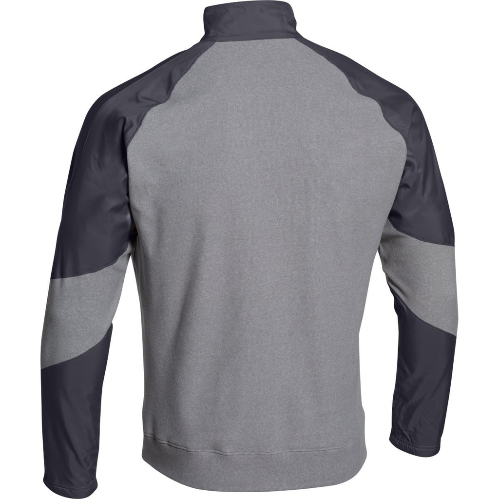 Under Armour Men's Steel Stealth Gray Performance Fleece 1/4 Zip