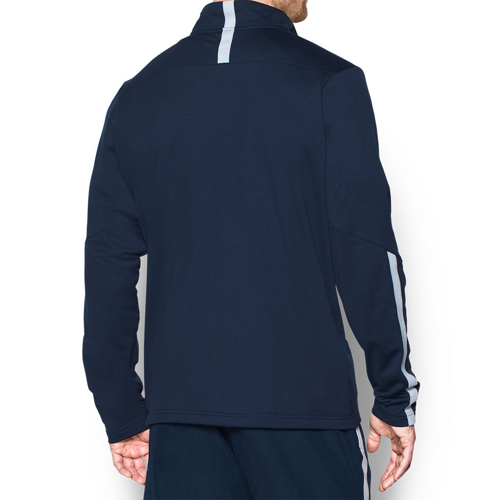 Under Armour Men's Midnight Navy Corporate Qualifier Quarter Zip