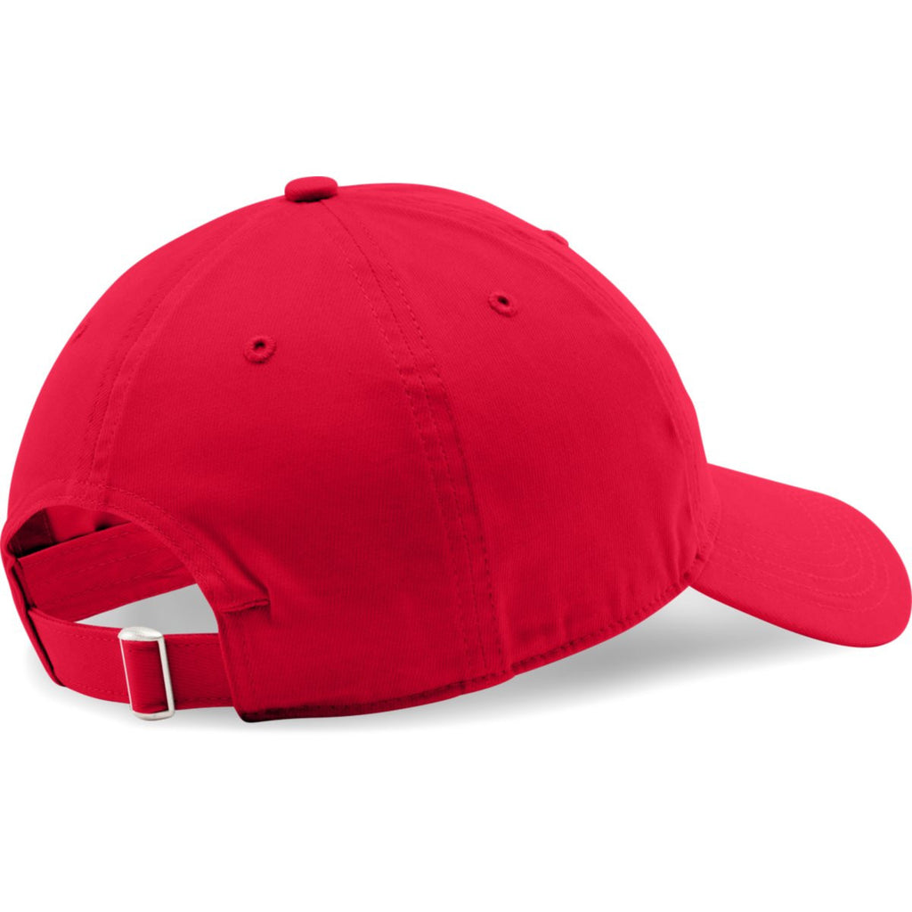 Under Armour Red Chino Relaxed Cap