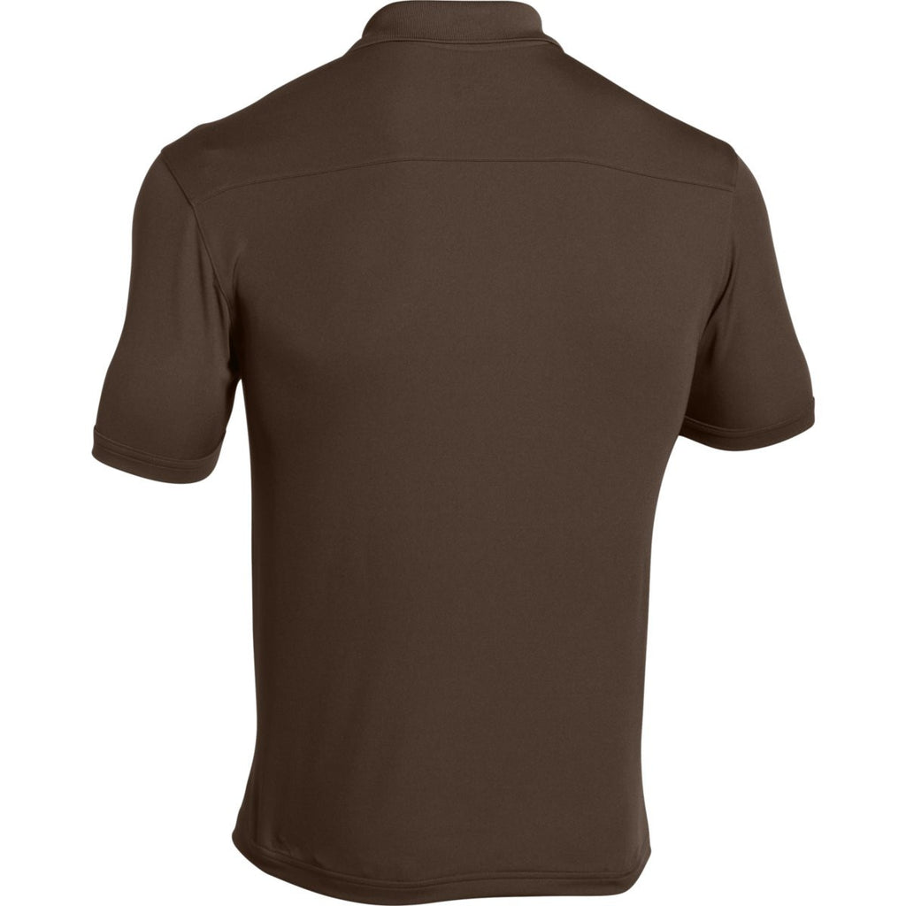 Under Armour Men's Cleveland Brown Team Armour Polo