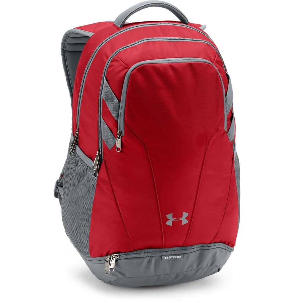 116292c4a4 Product. Home  Under Armour Red UA Team Hustle 3.0 Backpack
