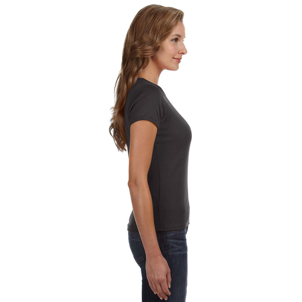 Anvil Women's Smoke Scoop T-Shirt