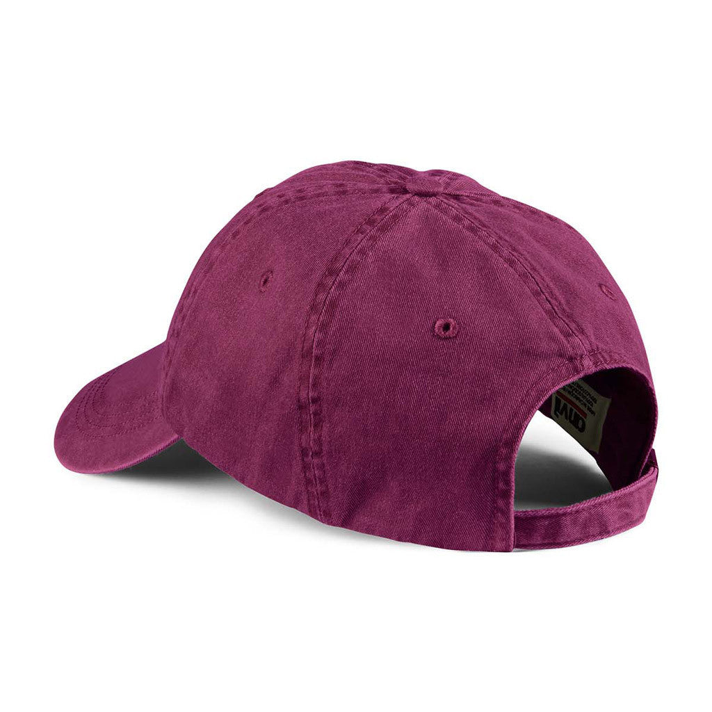 Anvil Raspberry Solid Low-Profile Pigment-Dyed Cap