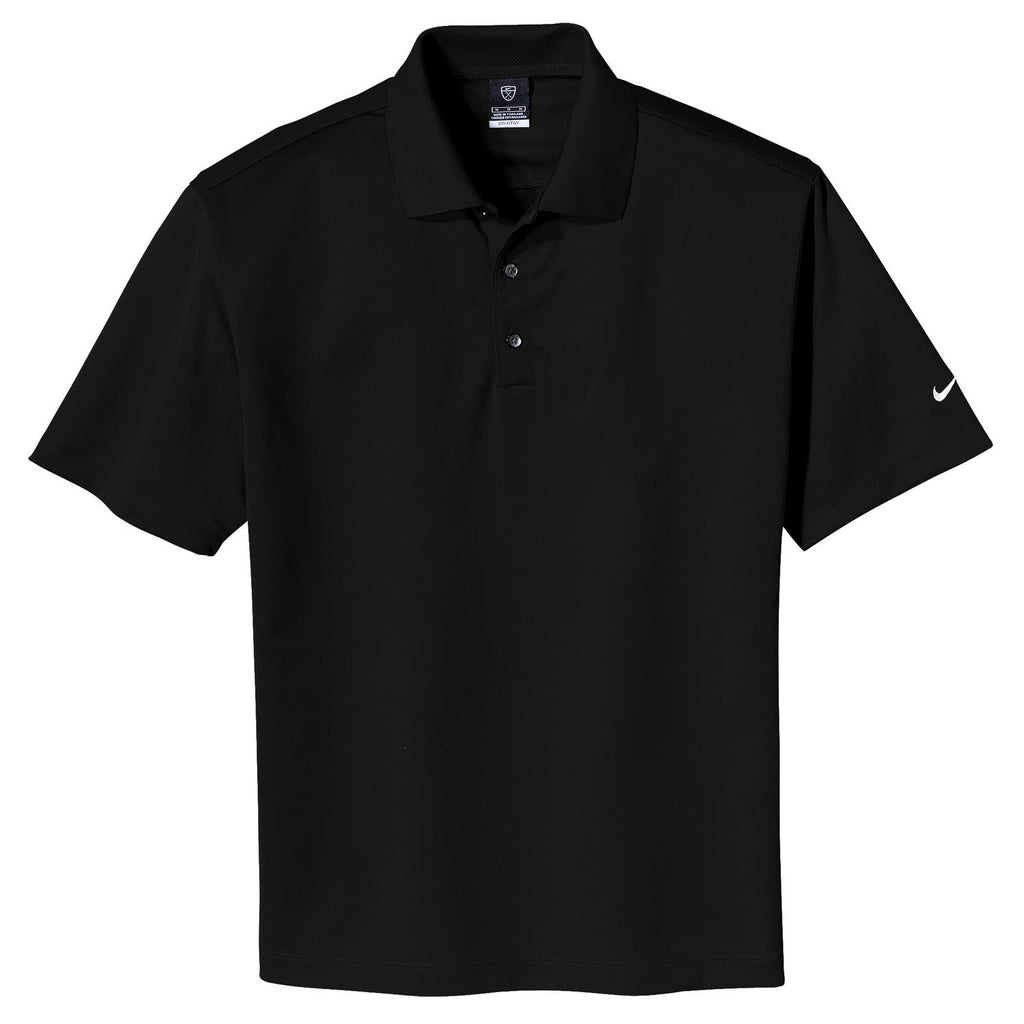 30a61e17bdf Nike Golf Men s Black Tech Basic Dri-FIT S S Polo