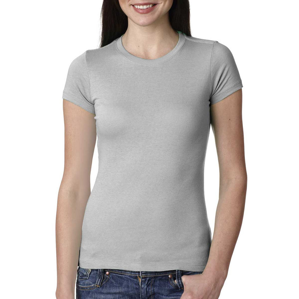 Next Level Women's Silver Perfect Tee