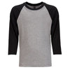 3352-next-level-black-raglan-tee