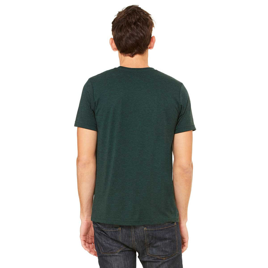 Bella + Canvas Unisex Emerald Triblend Short-Sleeve T-Shirt