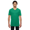 352-anvil-green-v-neck-tee