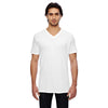 352-anvil-white-v-neck-tee