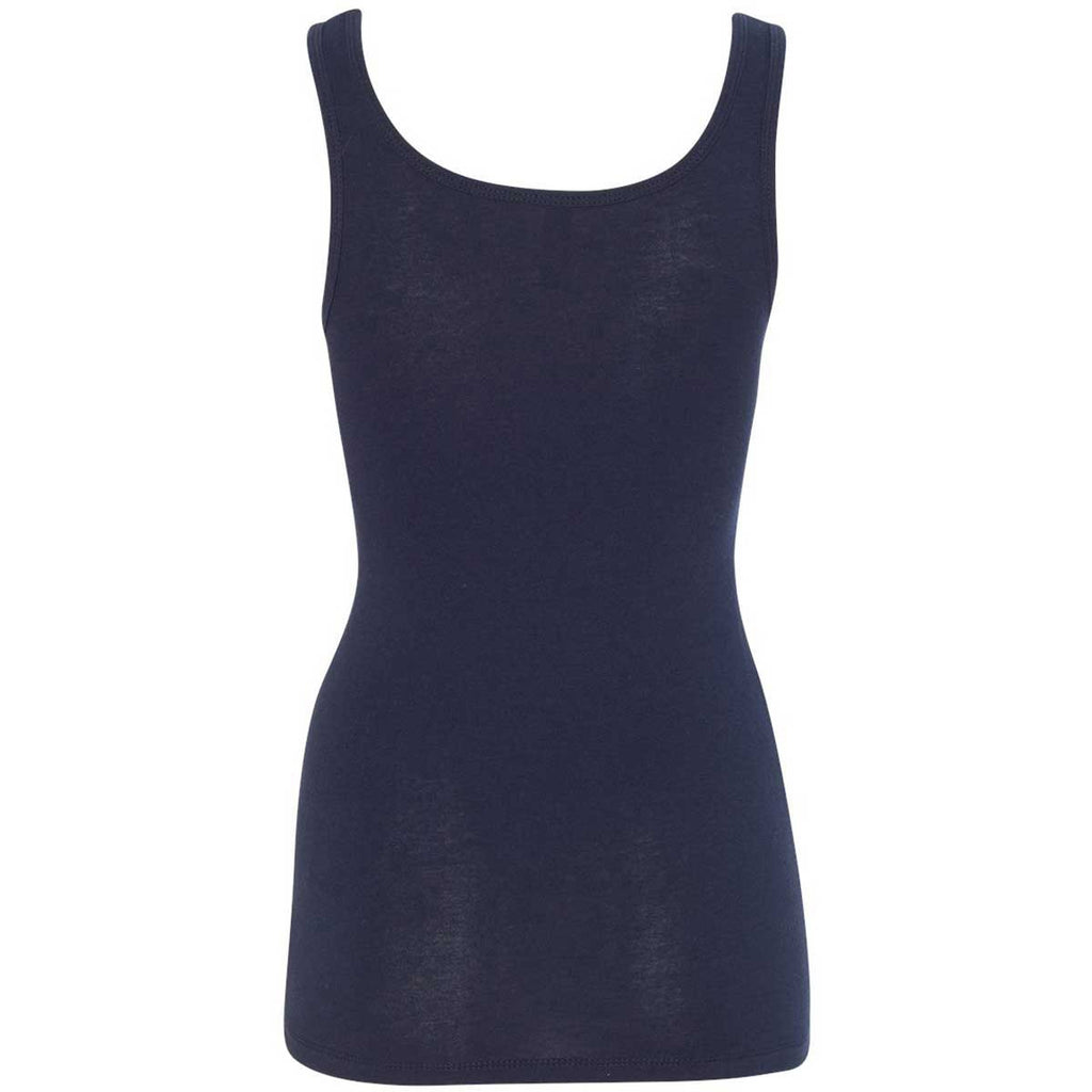 Next Level Women's Midnight Navy Jersey Tank Top