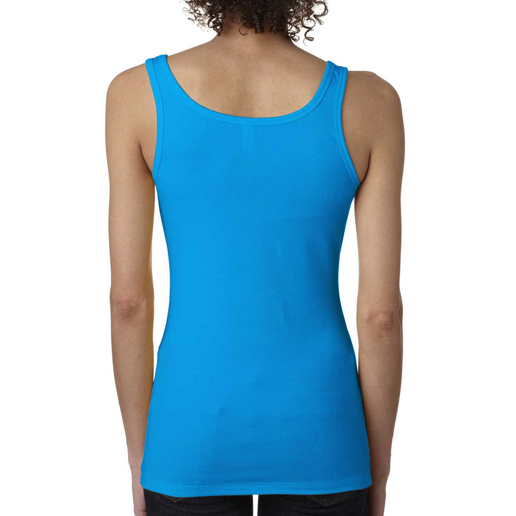 Next Level Women's Turquoise Jersey Tank Top