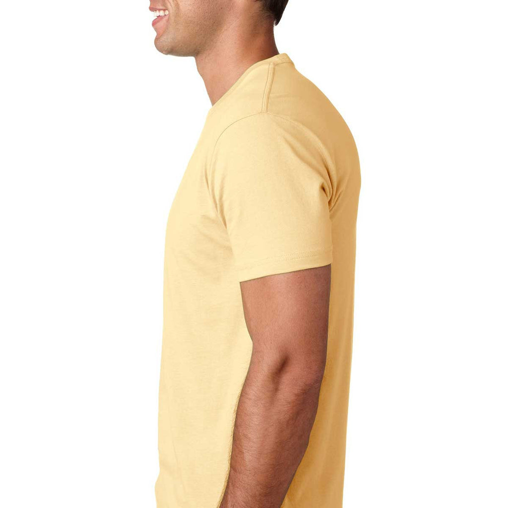 Next Level Men's Banana Cream Premium Fitted Short-Sleeve Crew