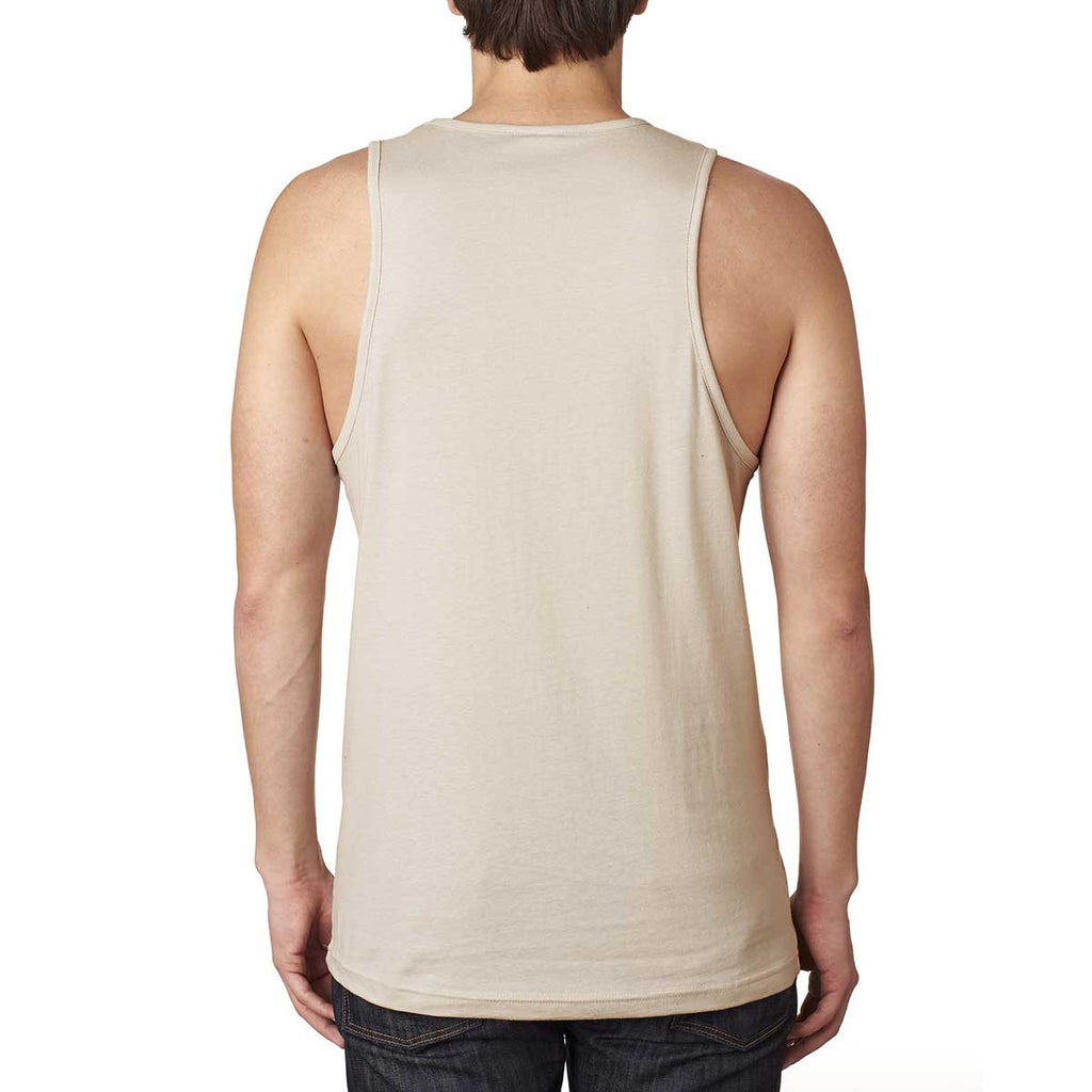 Next Level Men's Sand Premium Jersey Tank