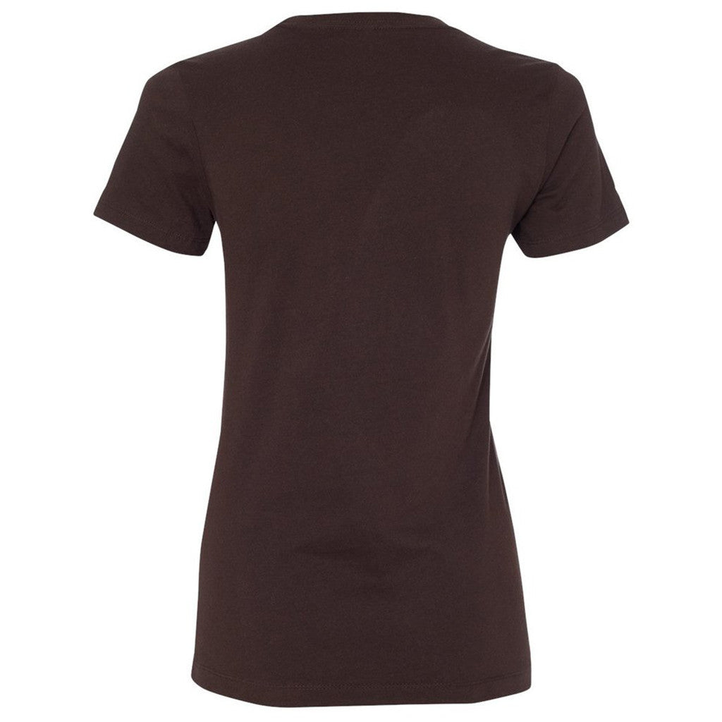 Next Level Women's Dark Chocolate Boyfriend Tee
