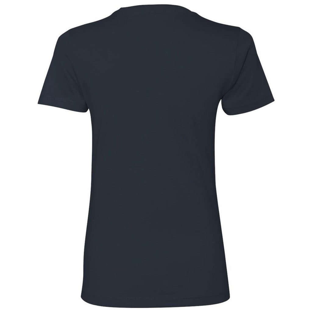 Next Level Women's Indigo Boyfriend Tee