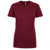 n3900-next-level-women-maroon-tee