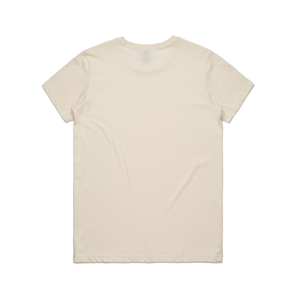 AS Colour Women's Natural Maple Organic Tee