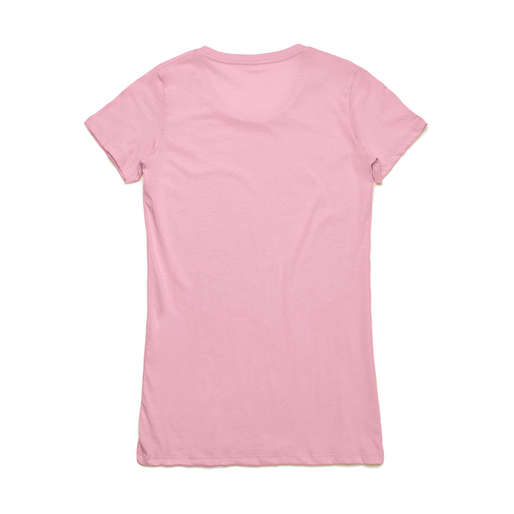 AS Colour Women's Candy Pink Wafer Tee