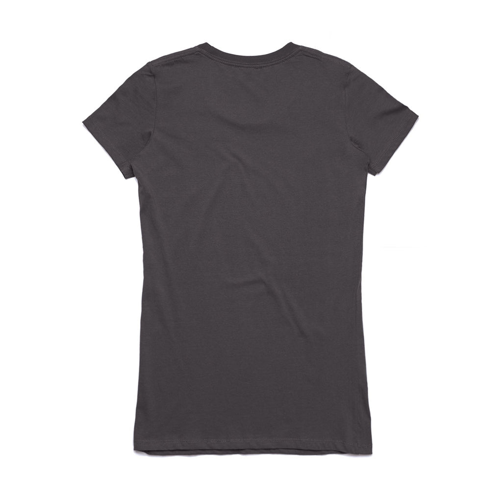 AS Colour Women's Charcoal Wafer Tee