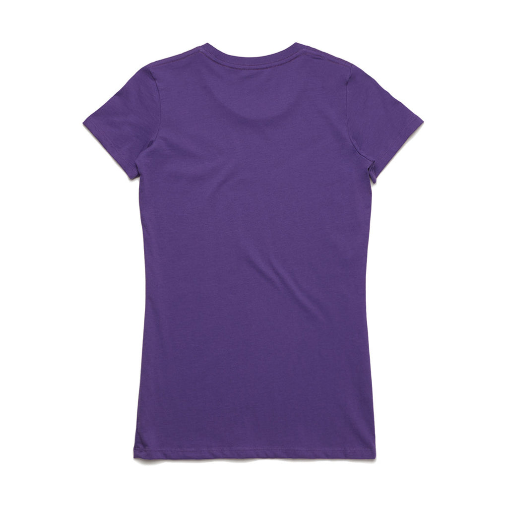 AS Colour Women's Purple Wafer Tee