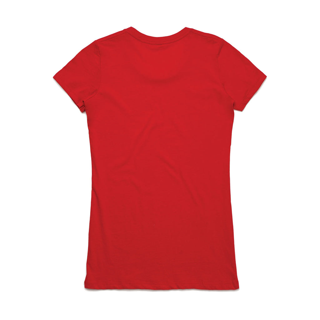 AS Colour Women's Red Wafer Tee