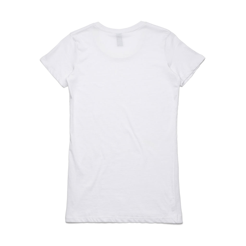 AS Colour Women's White Wafer Tee