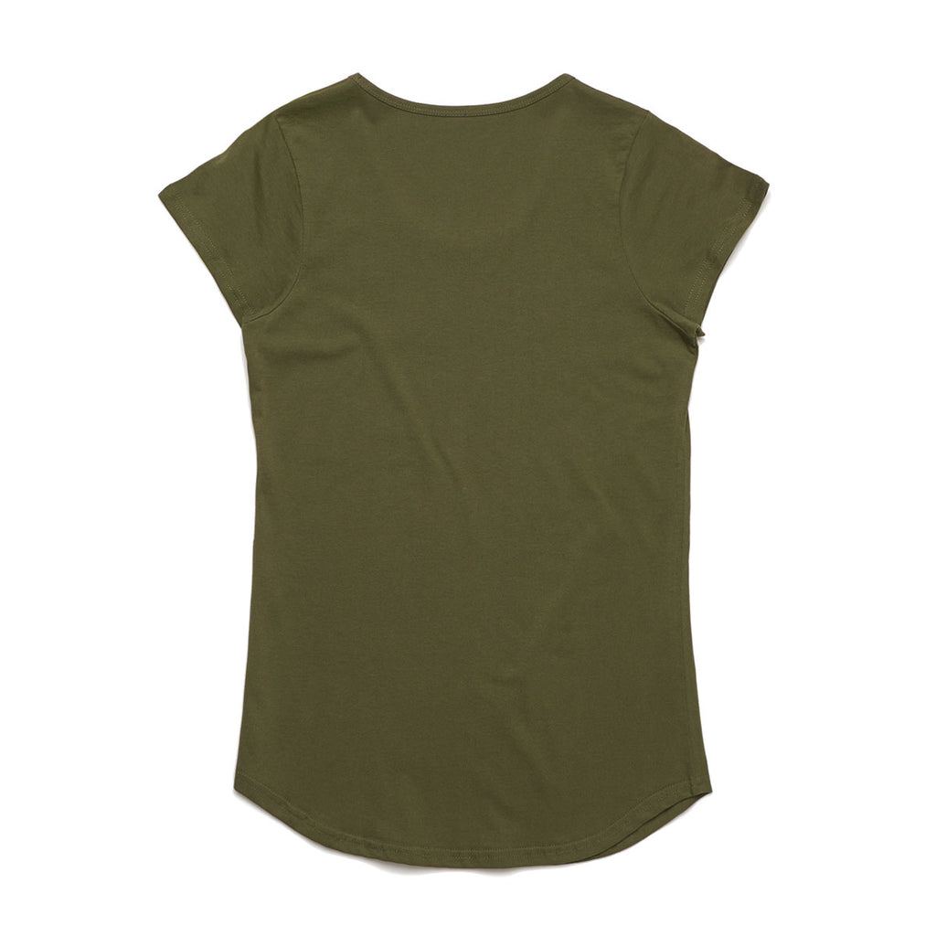 AS Colour Women's Army Mali Tee