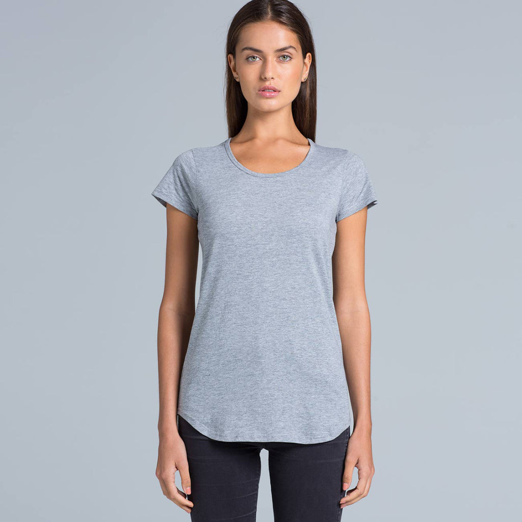 AS Colour Women's Light Blue Marle Mali Tee