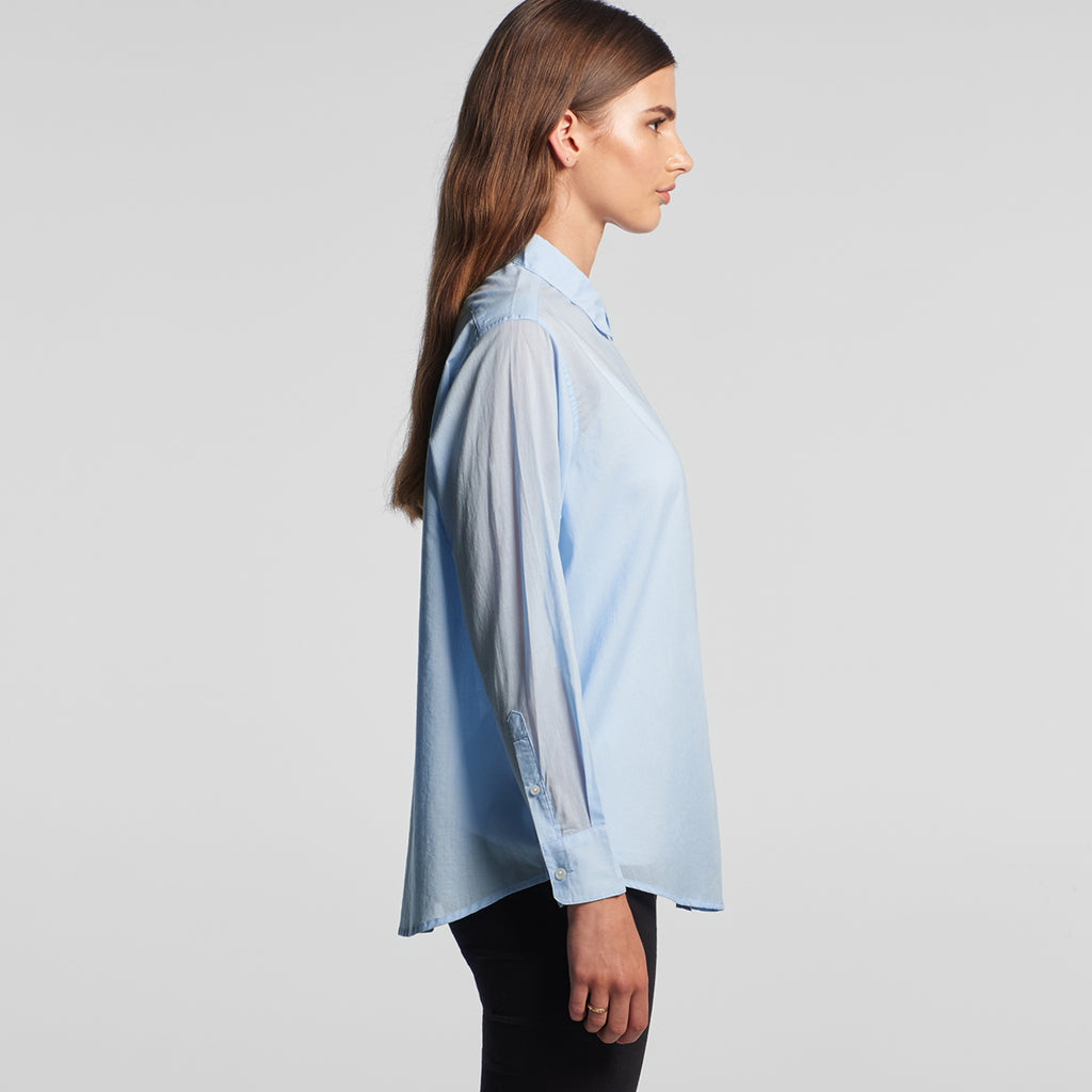 AS Colour Women's Sky Blue SOHO Oversized Shirt