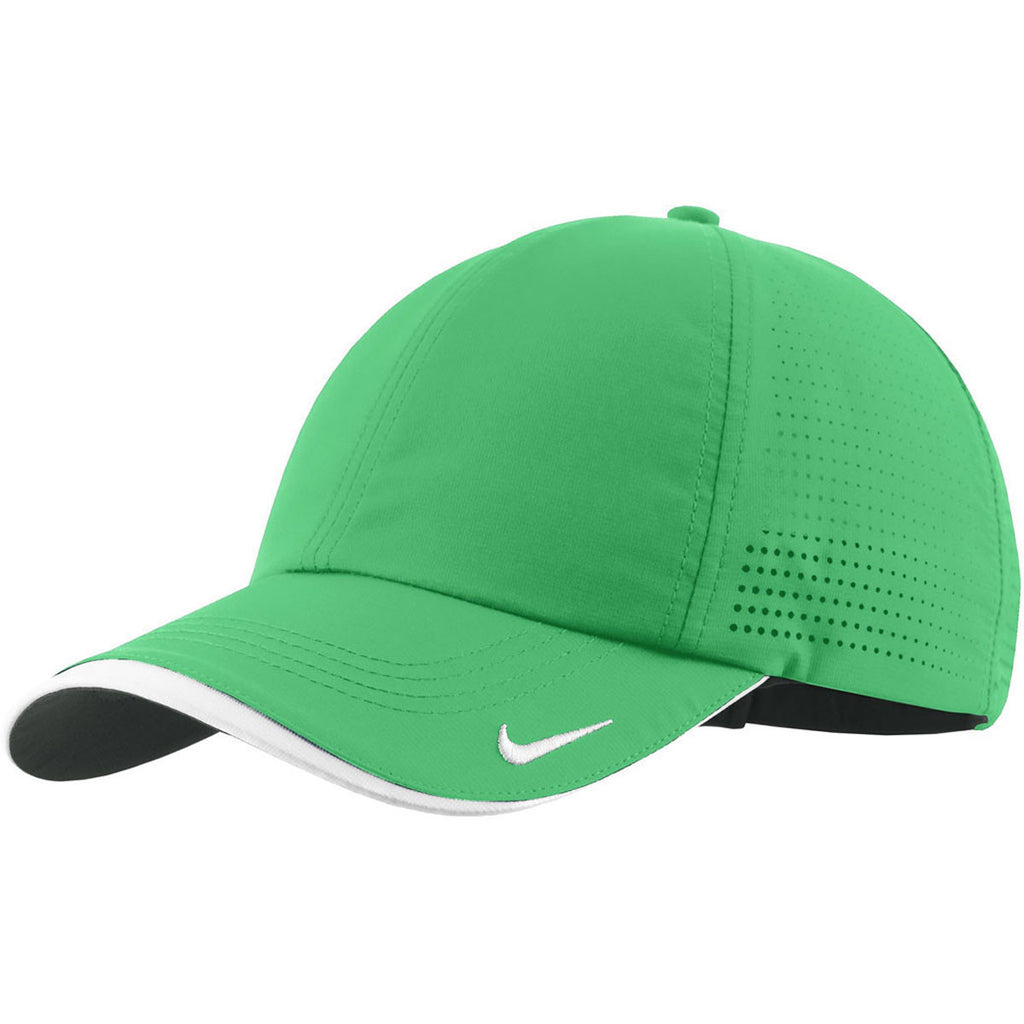 452d828775d Nike Dri-FIT Lucky Green Swoosh Perforated Cap