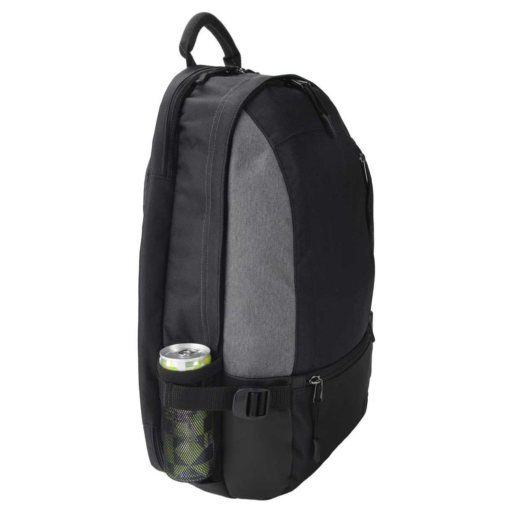 Gemline Black & Heather Grey McKinley Computer Backpack