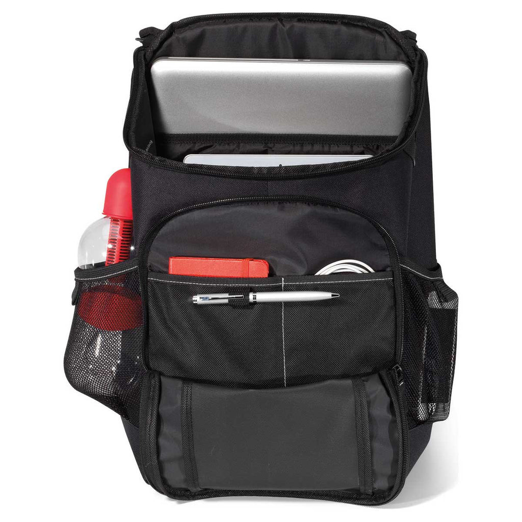Gemline Black Frontier Computer Backpack