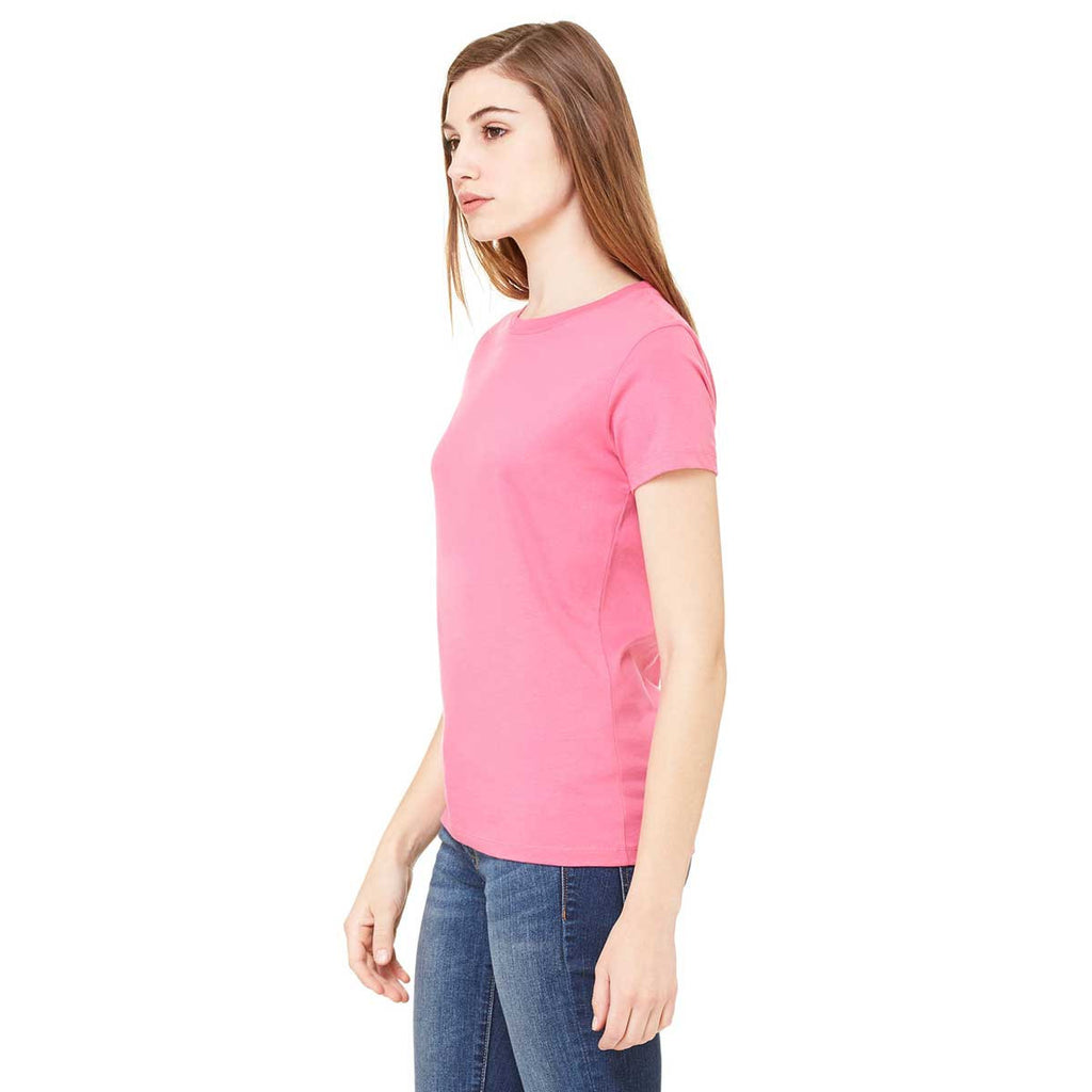 Bella + Canvas Women's Very Pink Jersey Short-Sleeve T-Shirt